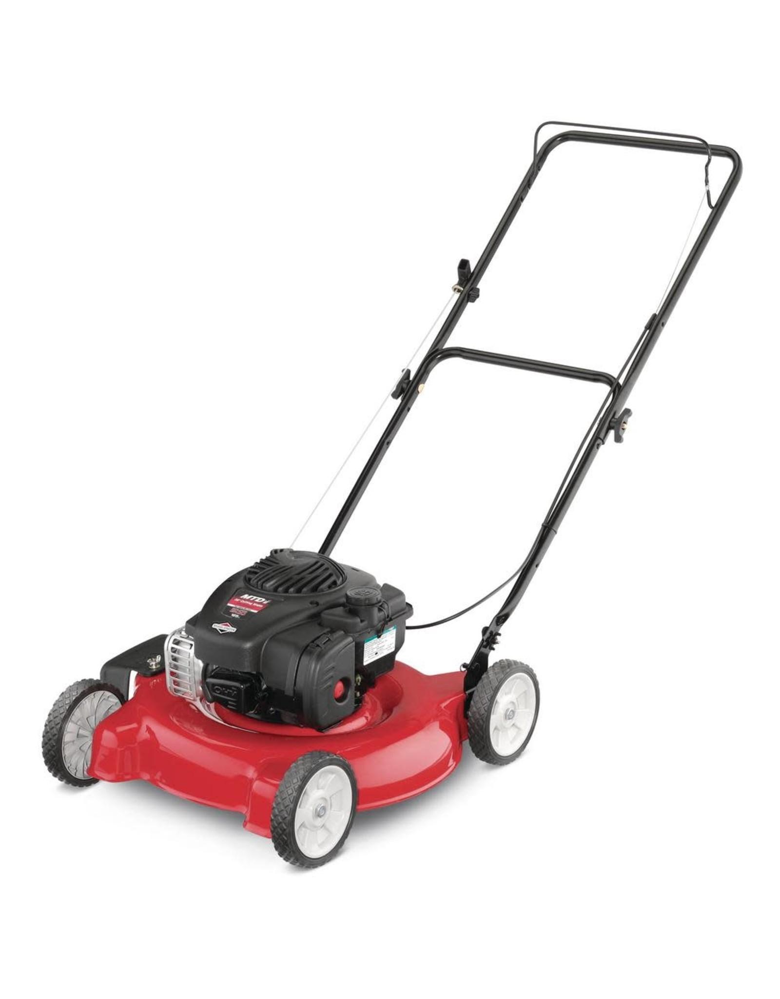 "Lawn Mower - 20"" 125cc MTD 11A-02BT729"