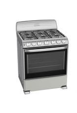 "Mabe Mabe Stove 30"" S.S. w/ Broiler Mercury EM7646BSIS1"