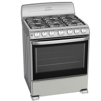 """Mabe Mabe Stove 30"""" S.S. w/ Broiler Mercury EM7646BSIS1"""