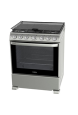 """Mabe Mabe Stove 30"""" s/steel w/cover EM7674CFIS0"""
