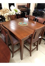 Square V Line 6 Seater Table