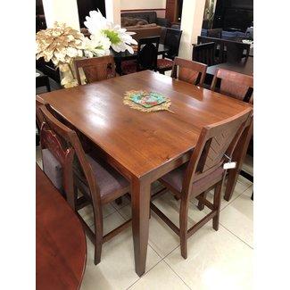 Square V Line 6 Seater Table