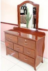 Dresser W/Mirror 4Ft  OZ
