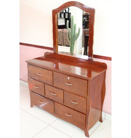 Dresser W/Mirror 4Ft  OZ