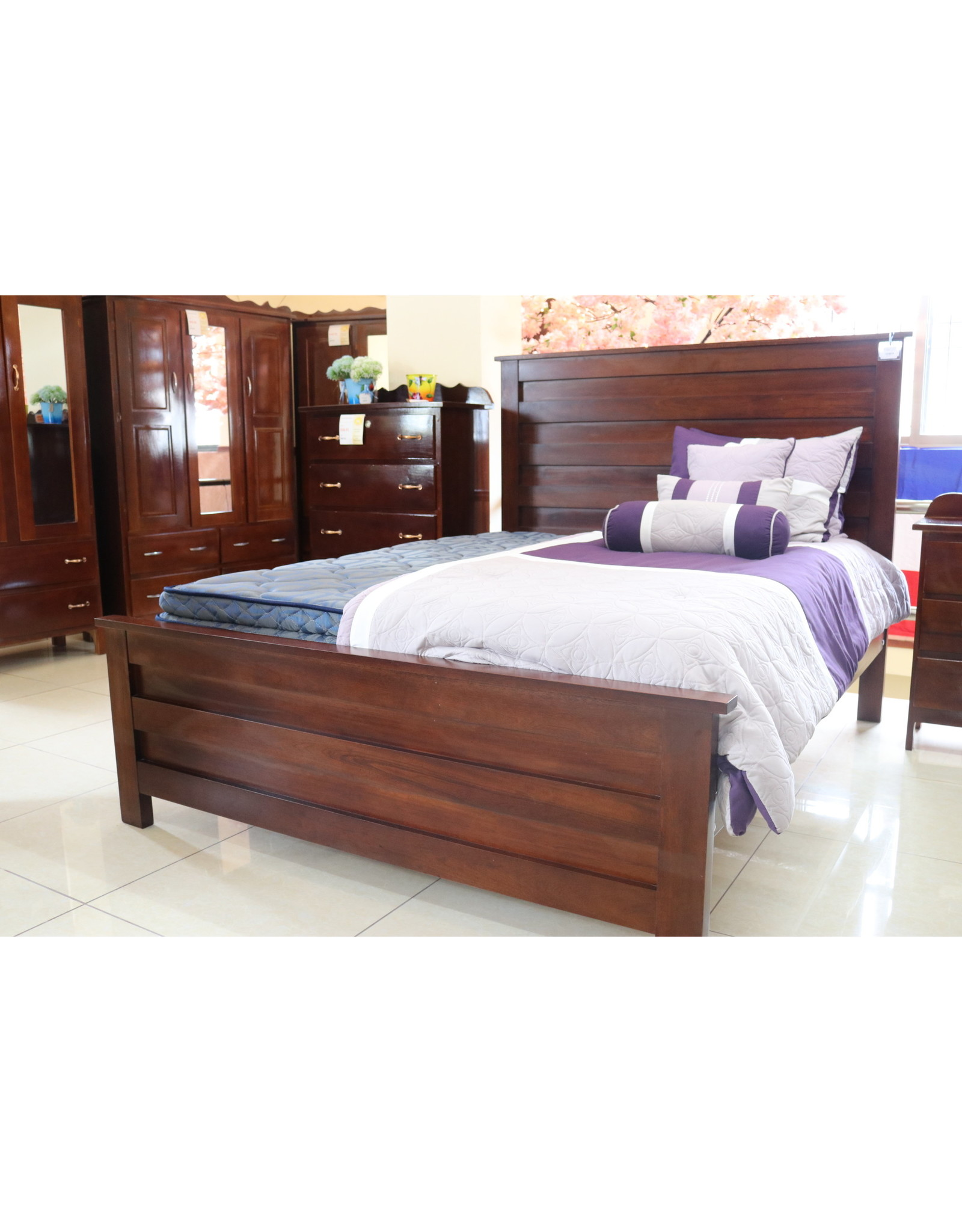 Contemporary Bed King Size