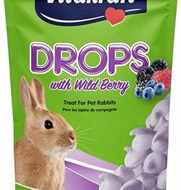 Vitakraft Rabbit Drops Wild Berry 5.3 oz Pouch