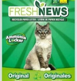 Fresh News Cat Litter - Made From 100% Post Consumer Paper
