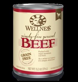 Wellness Wellness Canned Dog Food - Ninety-Five Percent Beef 13.5 oz
