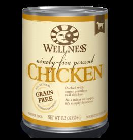 Wellness Wellness Canned Dog Food - Ninety-Five Percent Chicken 13.5 oz