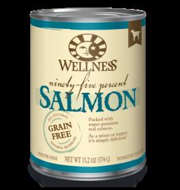 Wellness Wellness Canned Dog Food - Ninety-Five Percent Salmon 13.5 oz