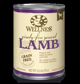 Wellness Wellness Canned Dog Food - Ninety-Five Percent Lamb 13.5 oz