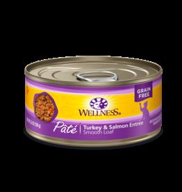 Wellness Wellness Canned Cat Food - Turkey & Salmon