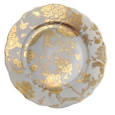 Deshoulieres Deshouiliers JARDIN SECRET Grey/gold accent plate