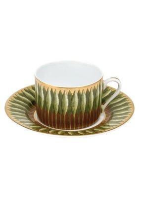 Deshoulieres Deshouiliers Jardins de Florence Tea Saucer