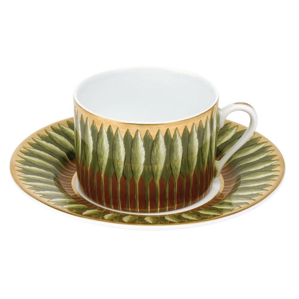 Deshoulieres Deshouiliers Jardins de Florence Tea Cup