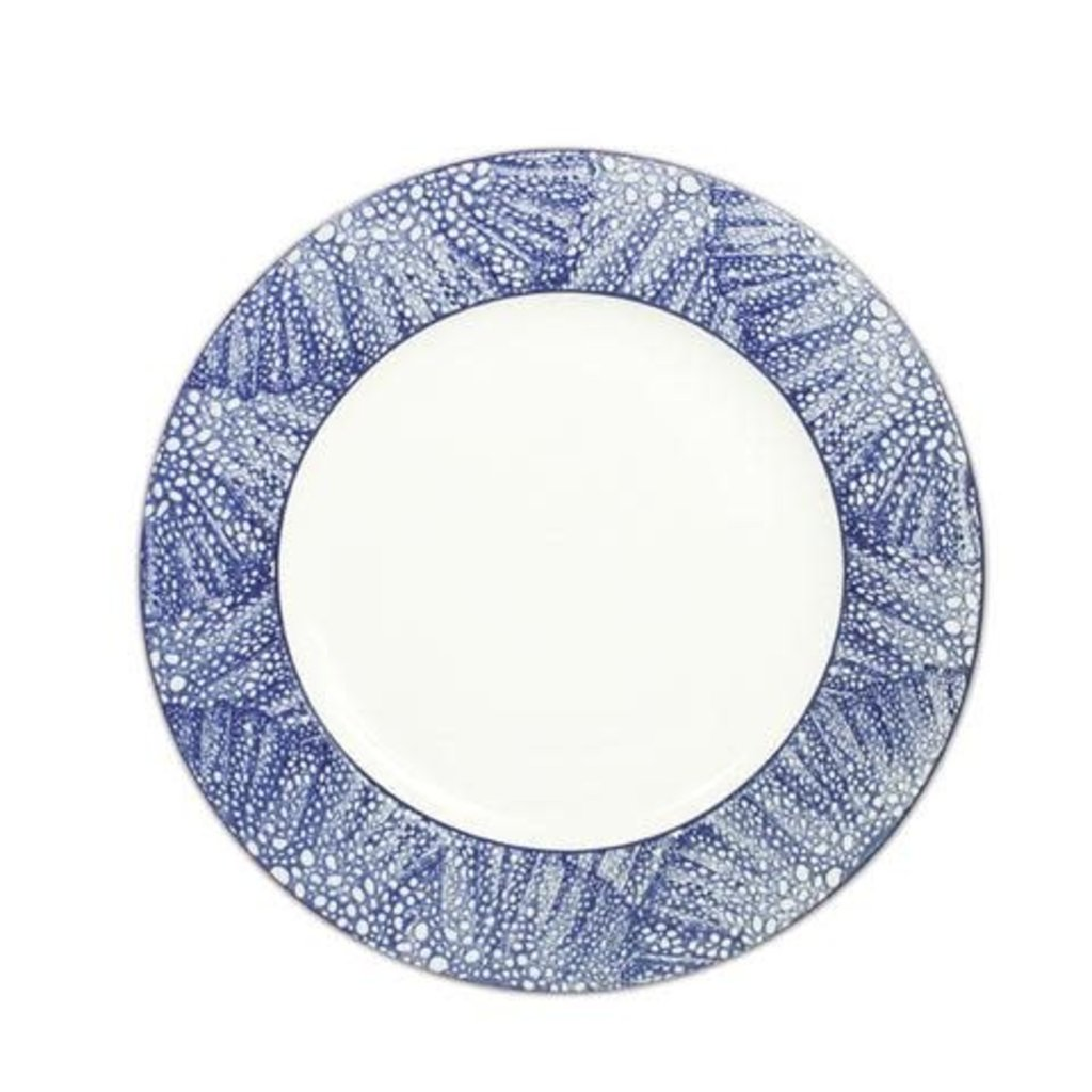 "Caskata Caskata Sea Fan 11"" (Rimmed) Dinner Plate"