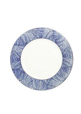 "Caskata Caskata Sea Fan (BLU) - 11"" (Rimmed) Dinner Plate"
