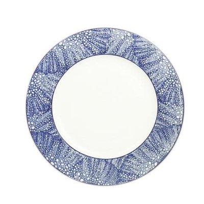 "Caskata Caskata Sea Fan 11"" (Rimmed) Dinner Plate"