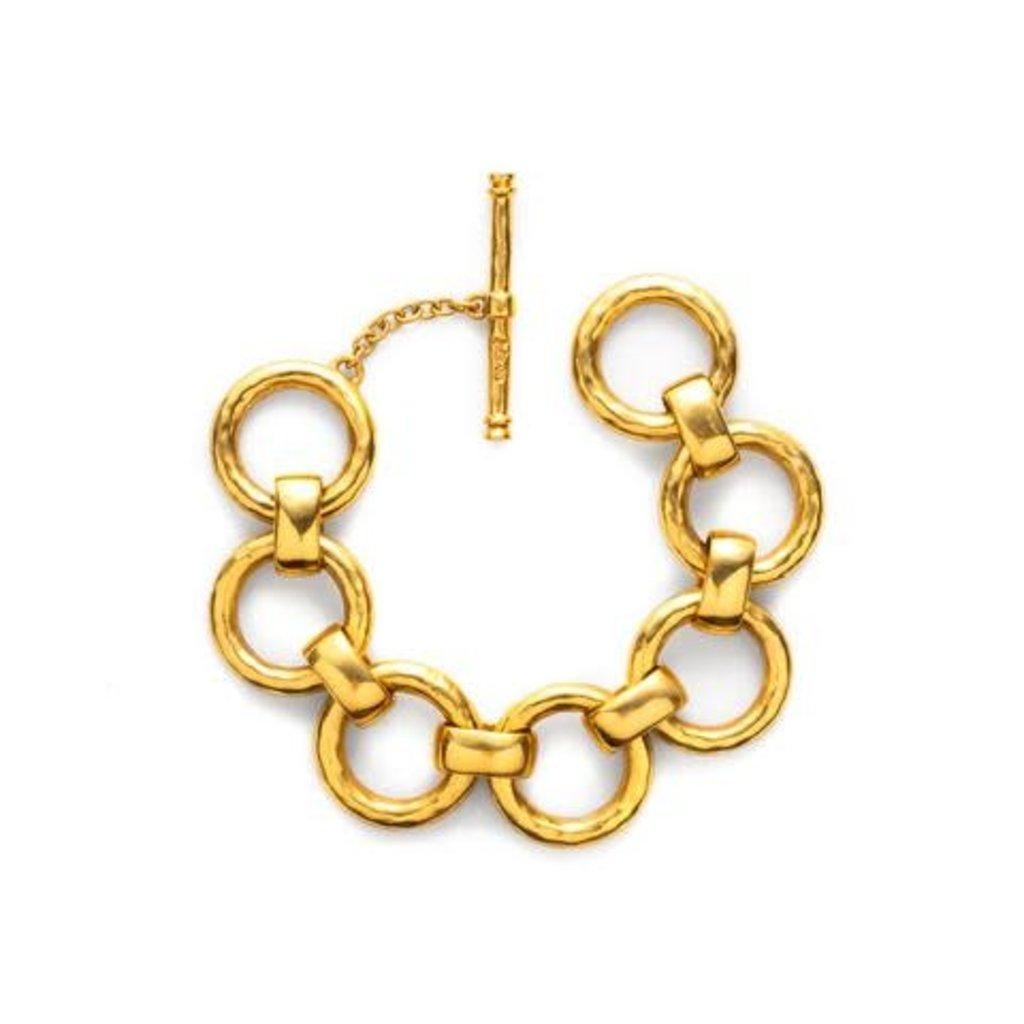 Julie Vos Julie Vos Lafayette Large Bracelet Gold