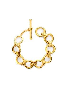 Julie Vos Julie Vos Beekman Small Link Bracelet