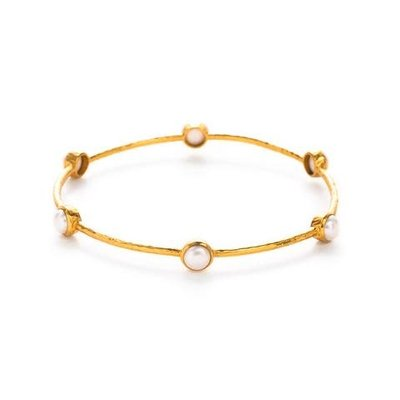 Julie Vos Julie Vos Milano Bangle Pearl M