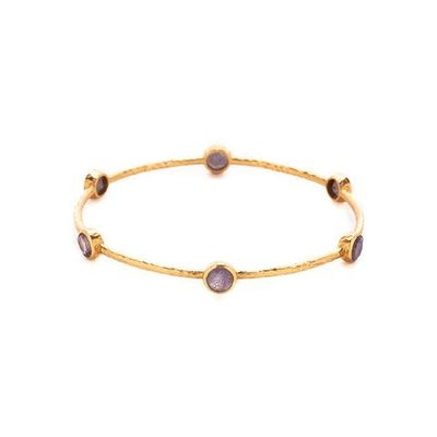 Julie Vos Julie Vos Milano Bangle Labradorite S