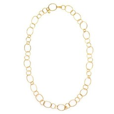 Julie Vos Julie Vos Colette Textured Link Necklace
