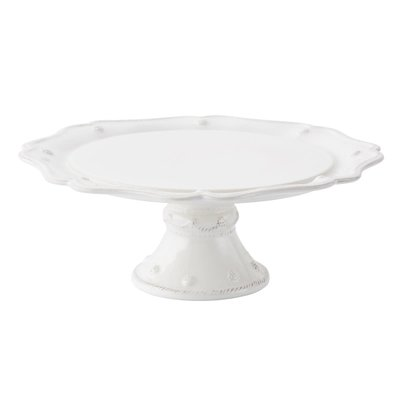 "Juliska Juliska Berry & Thread 11.5"" Cake Stand-Whitewash"