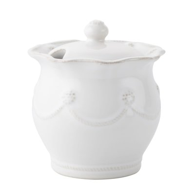 Juliska Juliska Berry & Thread Whitewash Lidded Sugar Pot