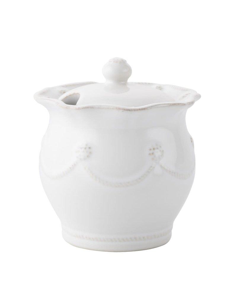 Juliska Juliska Berry & Thread Whitewash Lidded Sugar Pot