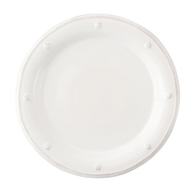Juliska Juliska B&T Dessert/Salad Plate- Whitewash