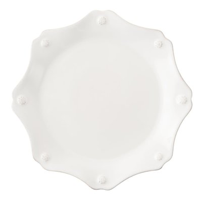Juliska Juliska Berry & Thread Scallop Dessert/Salad Plate- Whitewash