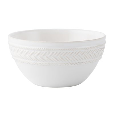 Juliska Juliska Le Panier Cereal/Ice Cream Bowl-Whitewash