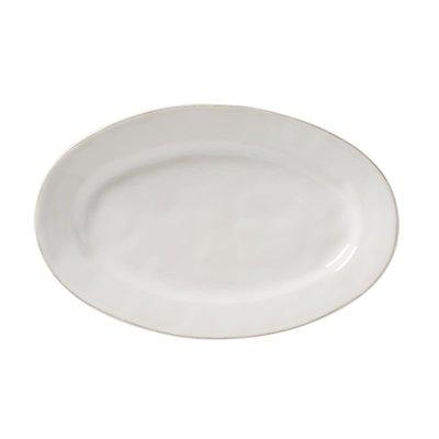 "Juliska Juliska Puro Whitewash 15"" Oval Platter"