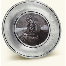 Match 1995 Match Pewter Lombardia Round Frame, Small