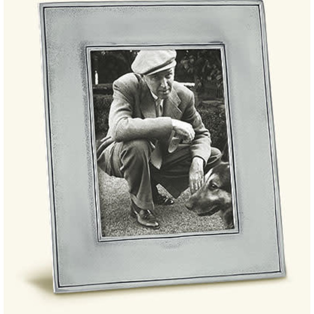 Match 1995 Match Pewter Lombardia Rectangle Frame, Large