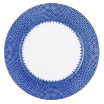 Mottahedeh Mottahedeh Blue Lace Service Plate