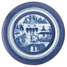 Mottahedeh Mottahedeh Blue Canton Dinner Plate