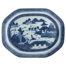 Mottahedeh Mottahedeh Blue Canton Small Platter