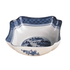Mottahedeh Mottahedeh Blue Canton Small Square Bowl