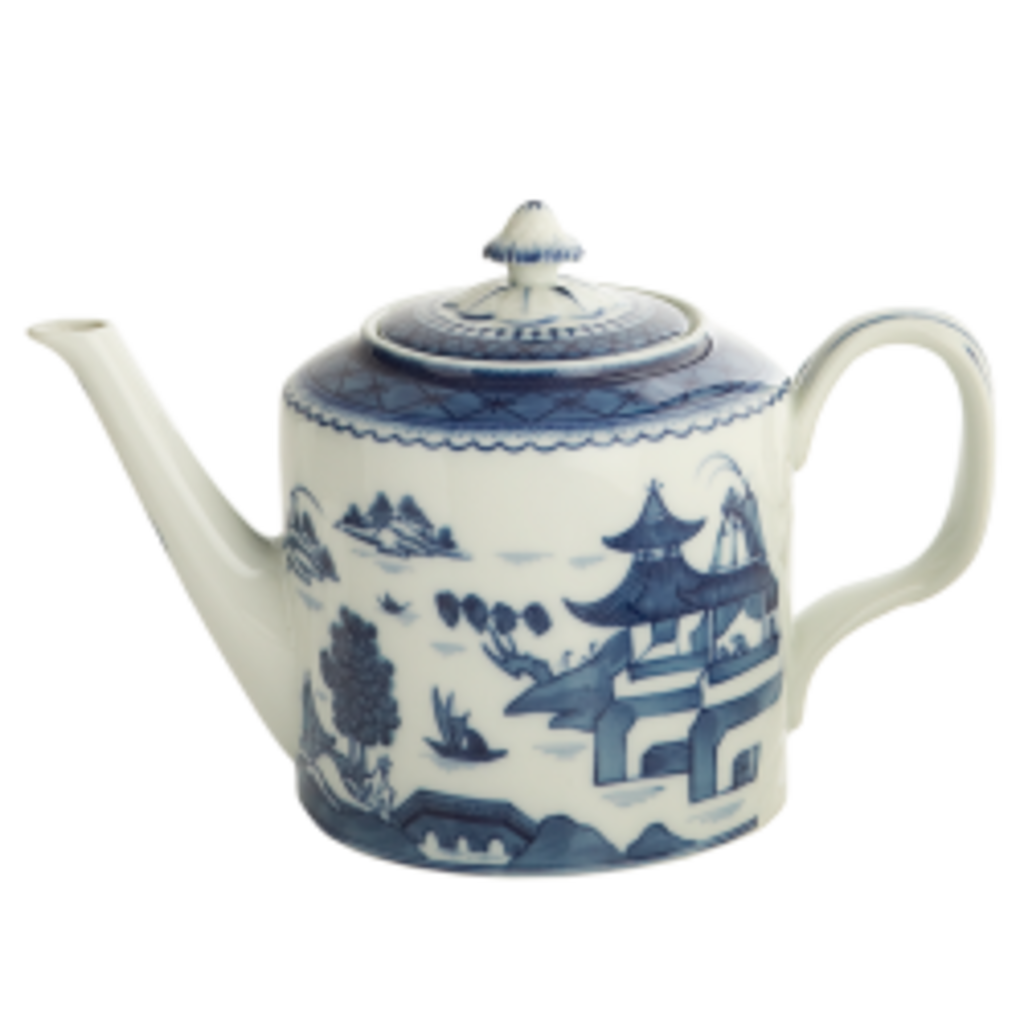 Mottahedeh Mottahedeh Blue Canton Teapot