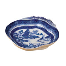 Mottahedeh Mottahedeh Blue Canton Shell Dish