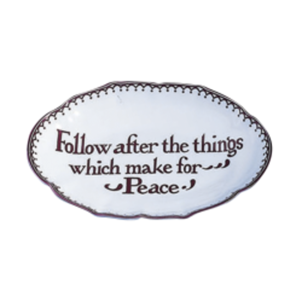 Mottahedeh Mottahedeh Peace Verse Tray