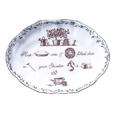 Mottahedeh Mottahedeh Rebus Verse Ring Tray