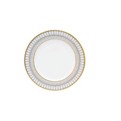Deshoulieres Deshoulieres Arcades Dinner Plate- Grey/Gold