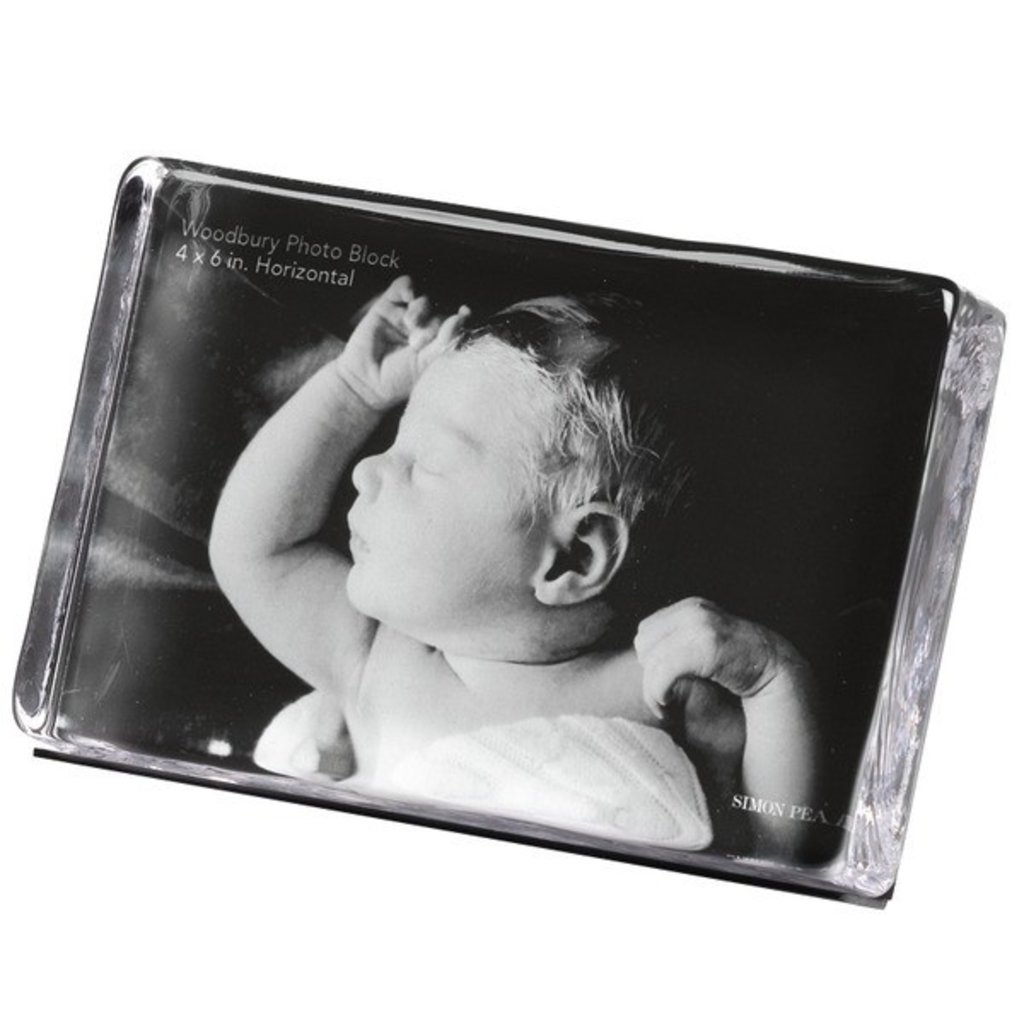 Simon Pearce Simon Pearce Woodbury Horizontal Photo Block Frame 4x6