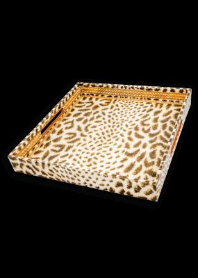 Habitat International Cheetah Lacquer Tray