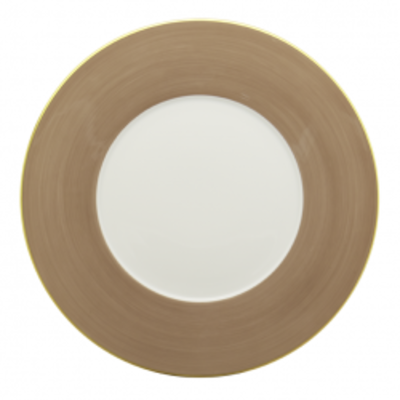 Haviland Haviland Lexington Taupe Presentation Plate