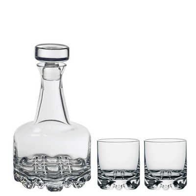 Orrefors Erik Decanter & DOF Set