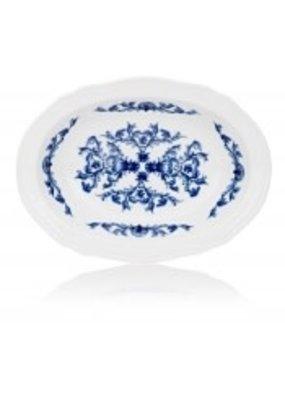 """Richard Ginori Richard Ginori Babele Deep Oval Platter 9.75"""""""